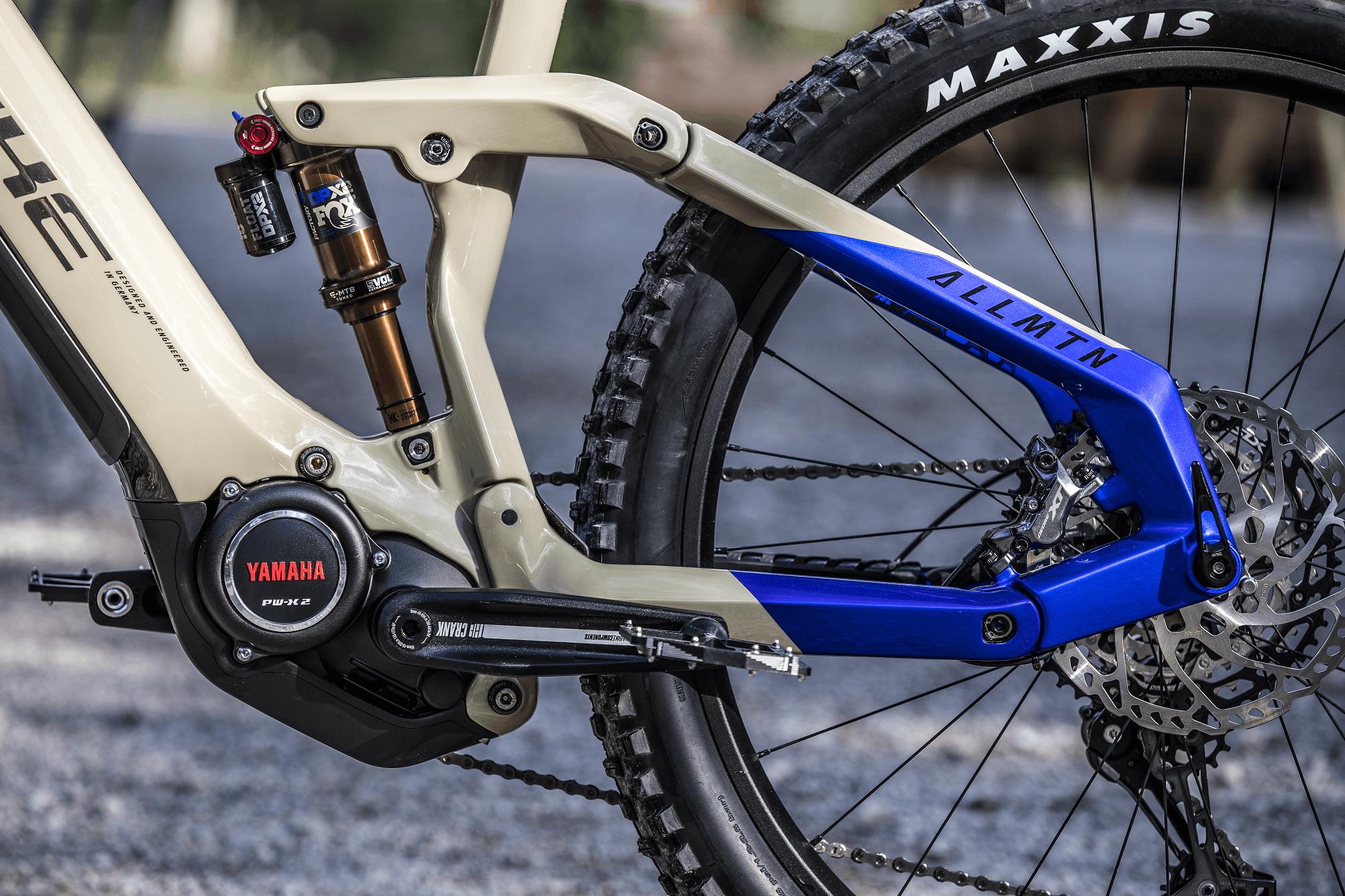Detailbild Yamaha PW-X2 Motor