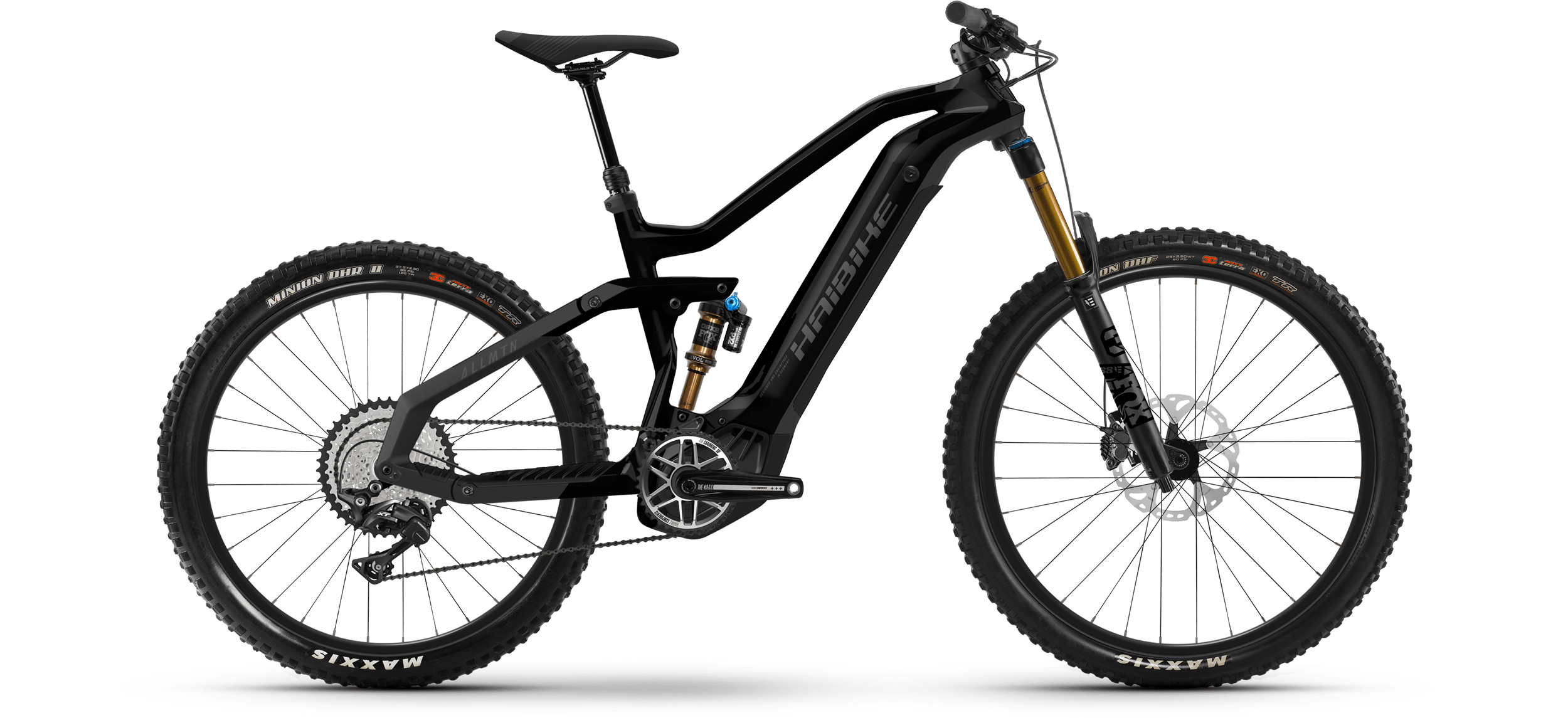 Product image Haibike MY21 AllMtn 7 eMTB Colour Black