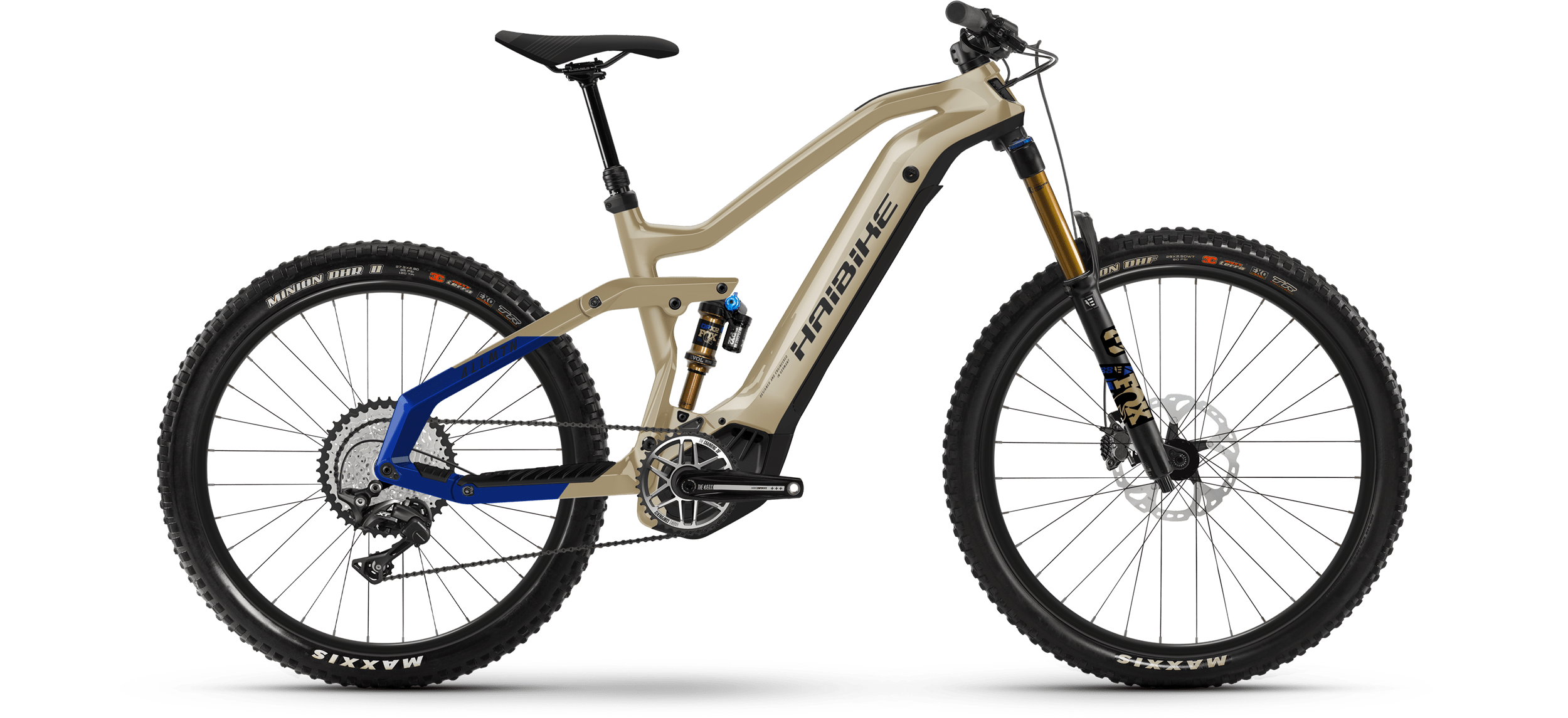 Product image Haibike MY21 AllMtn 7 eMTB Colour Iced Coffee
