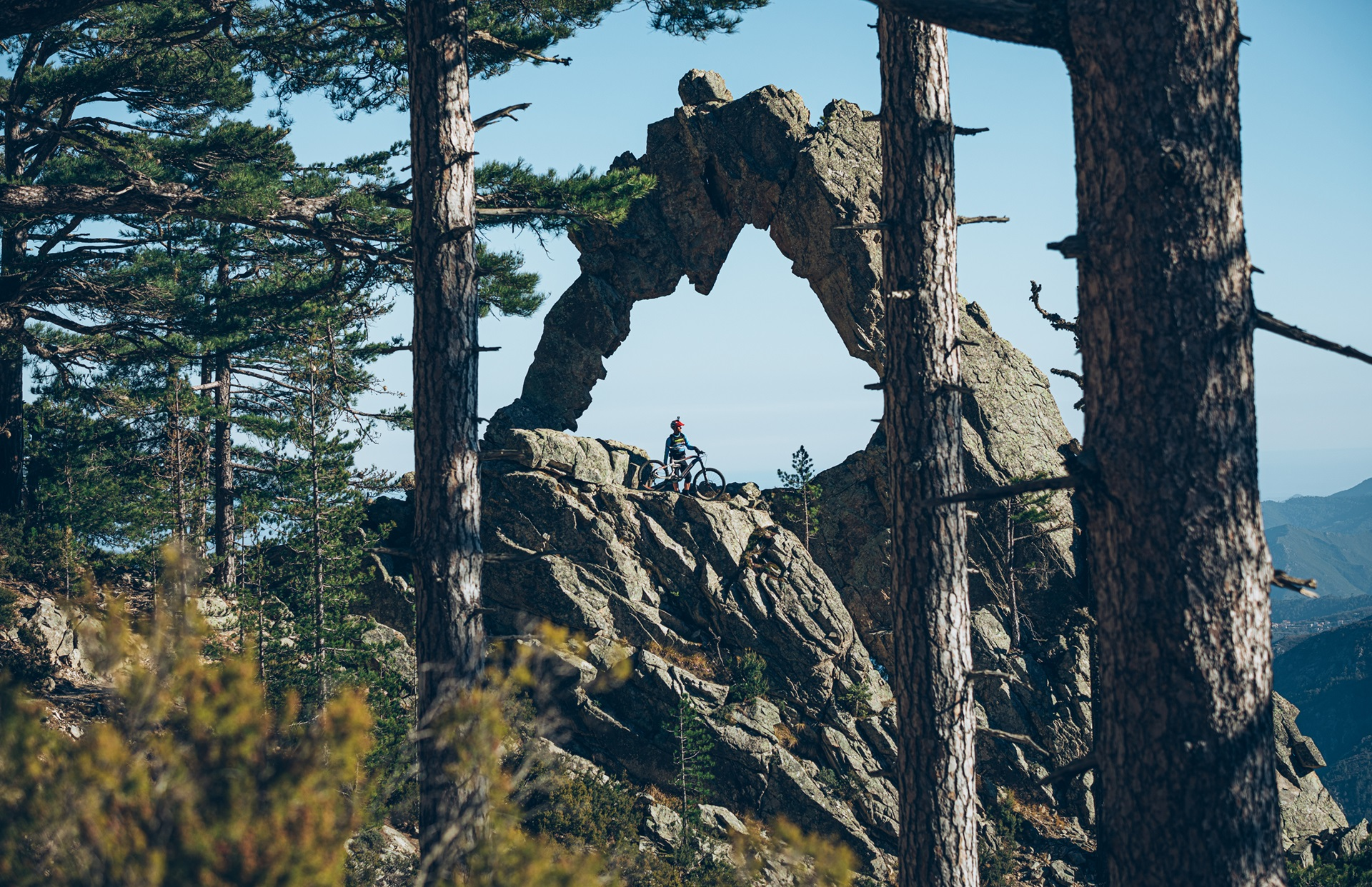 Haibike Hero Xavier Marovelli on XDURO AllMtn 10.0 eMTB in the mountains