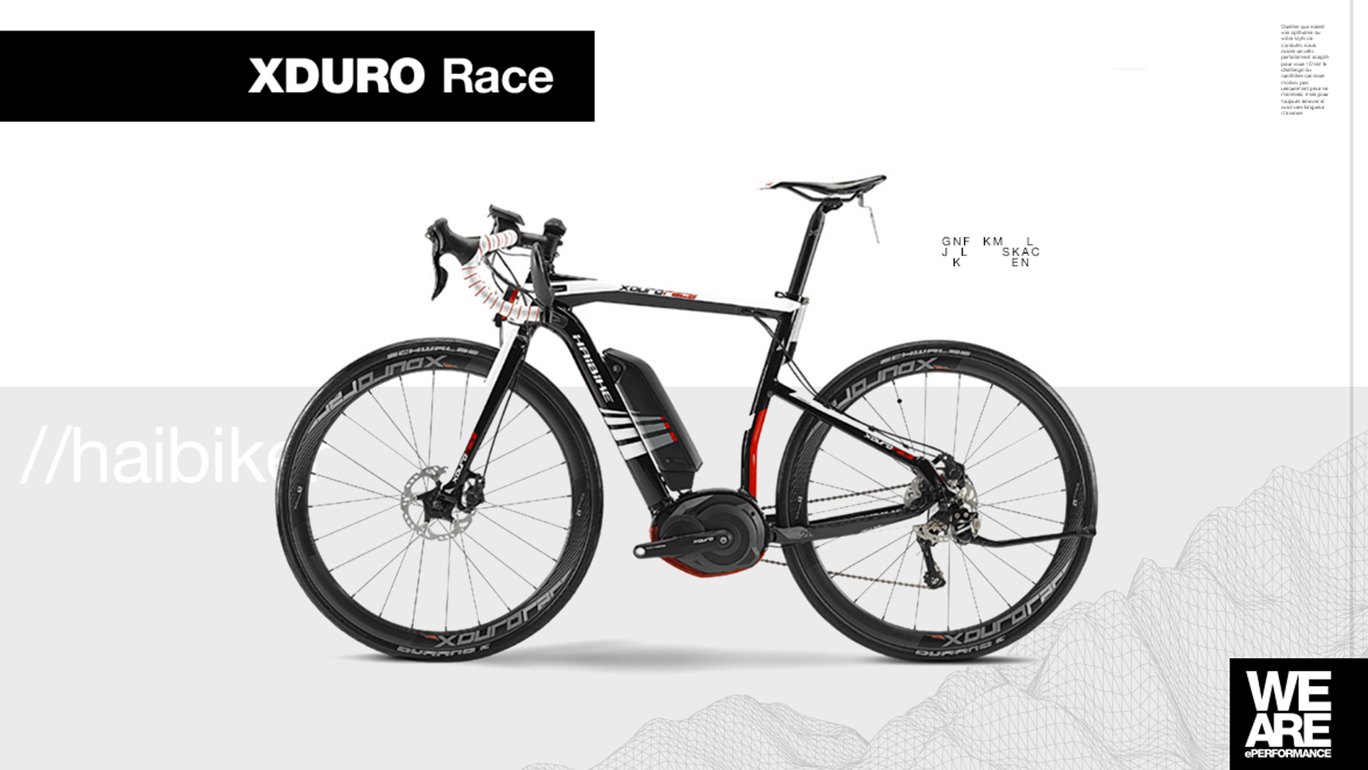Product image Haibike XDURO Race bike