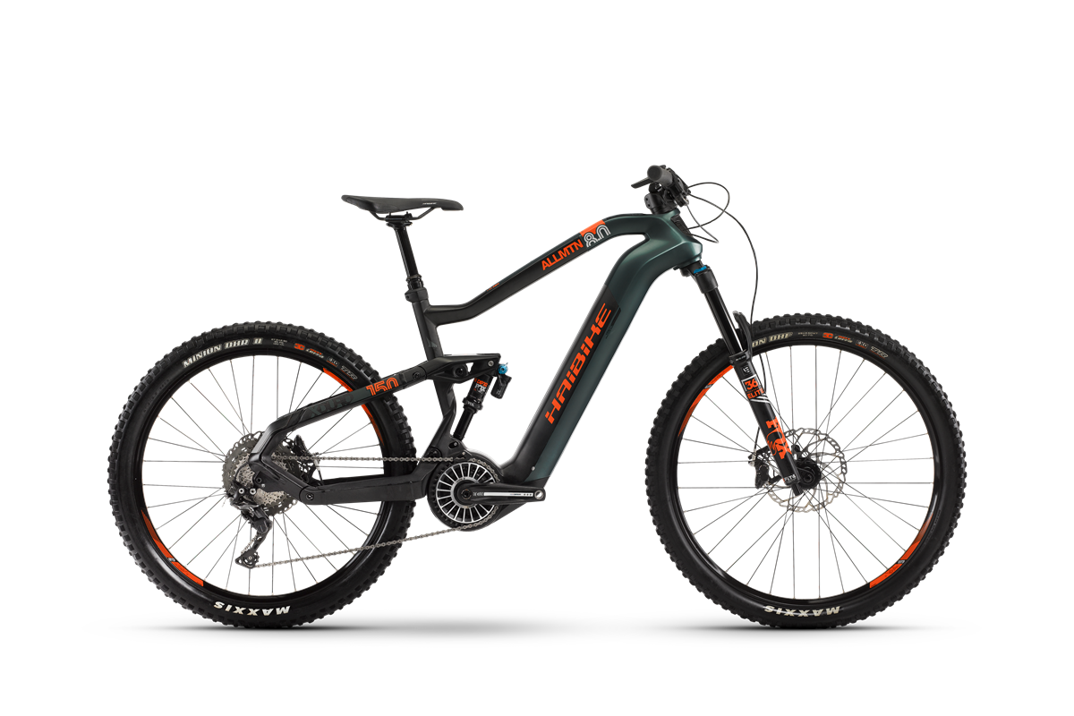 Haibike Flyon XDURO AllMtn 8.0 product image on white background