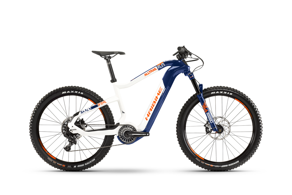 Haibike Flyon XDURO AllTrail 5.0 product image on white background