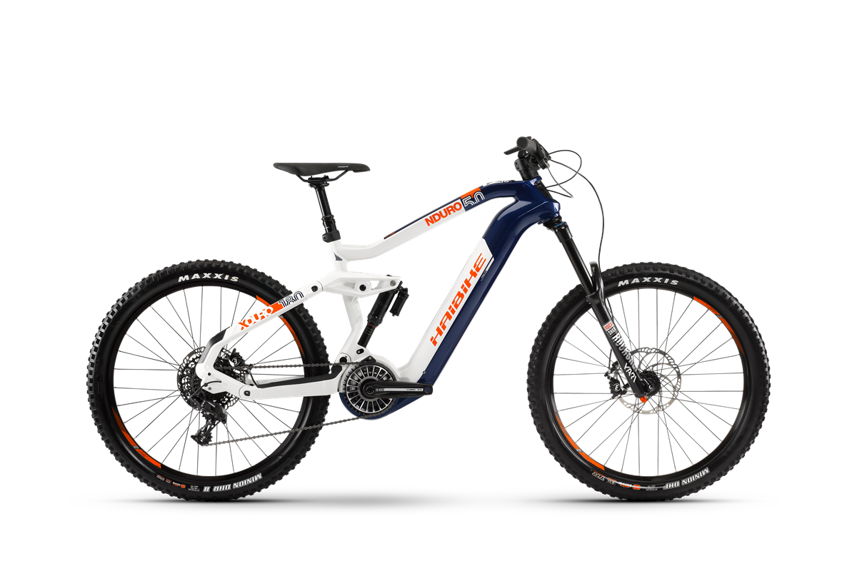 Haibike Flyon XDURO Nduro 5.0 product image on white background