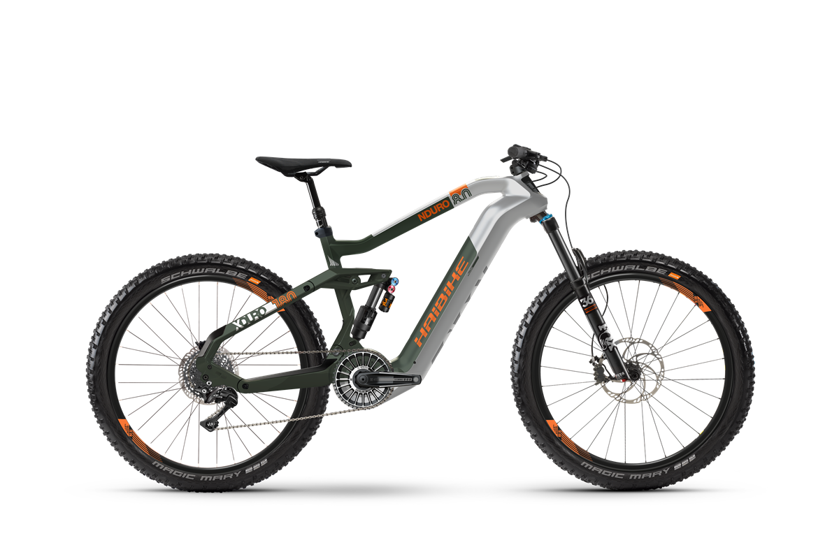 Haibike Flyon XDURO Nduro 8.0 product image on white background