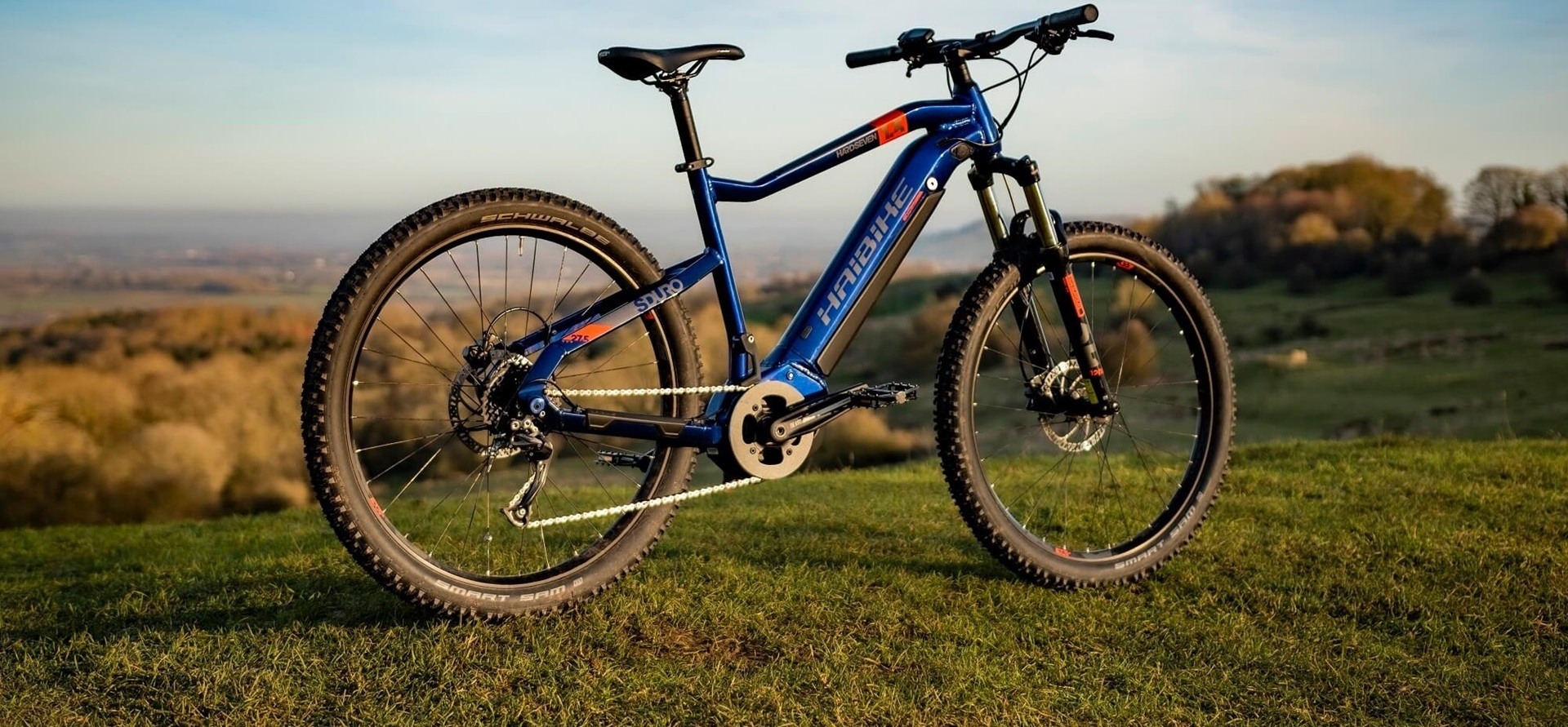 Haibike SDURO HardSeven 1.5 eMTB product shot in nature