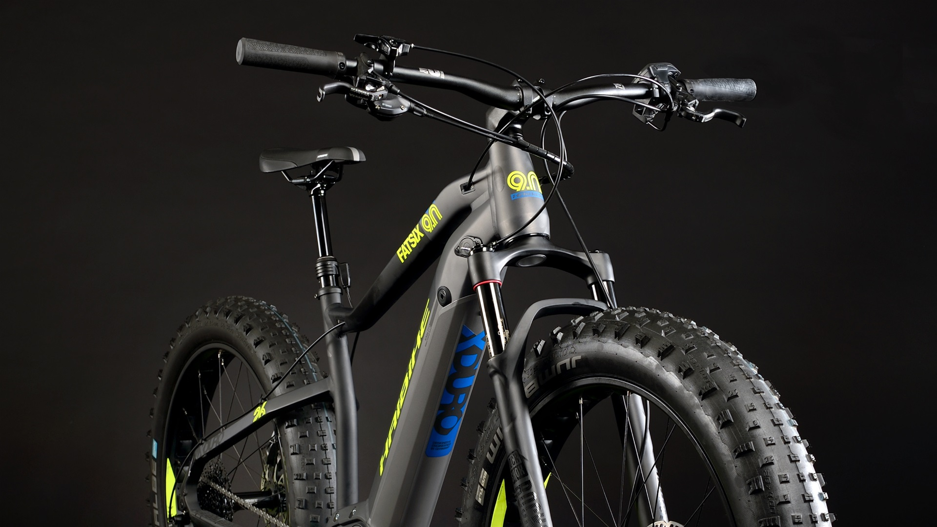 Electric fat bikes with great traction