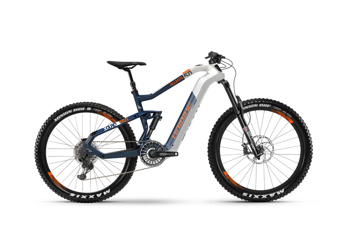 Haibike MY2020 XDURO AllMtn 5.0 eMTB product image transparent background