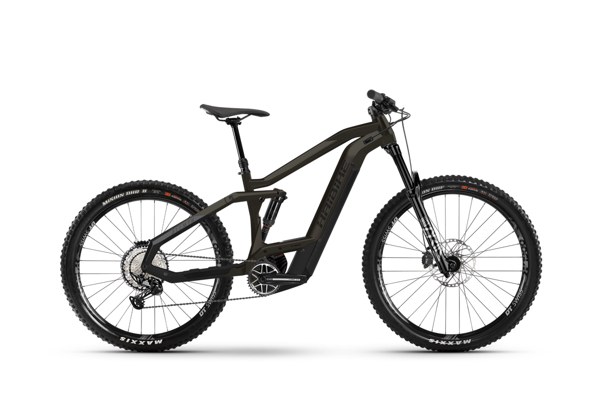 Haibike MY2021 AllMtn 5 electric mountain bike product image on transparent background