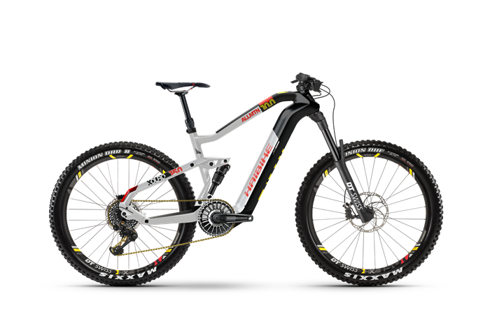 Haibike Flyon XDURO AllMtn 10.0 product image on white background