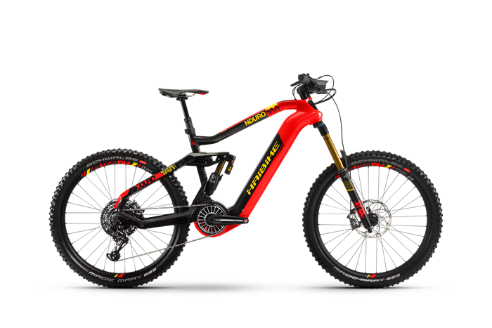 Haibike Flyon XDURO Nduro 10.0 product image on white background