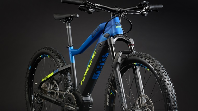 Hardtail electric mountainbikes