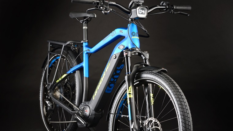 Electric trekking bikes