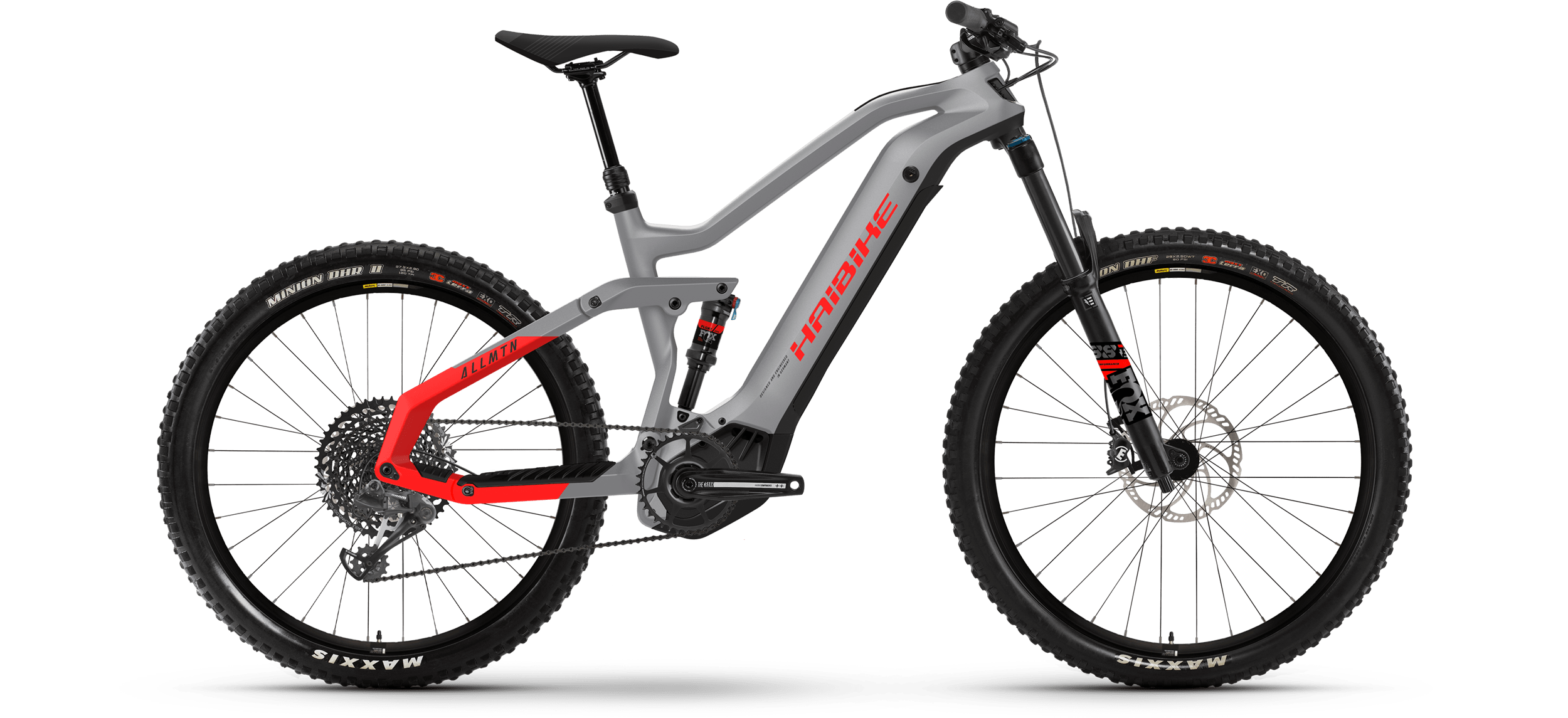 Product image Haibike MY21 AllMtn 6 eMTB Colour Urban Grey
